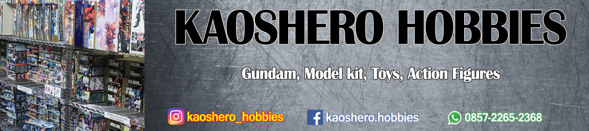 Kaoshero Hobbies Store