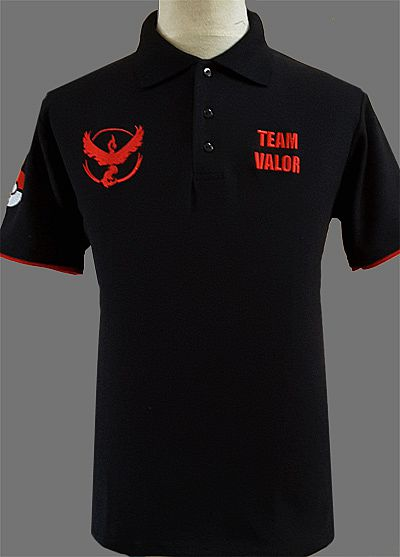 Team Valor Kaos Polo shirt (Pokemon Go)