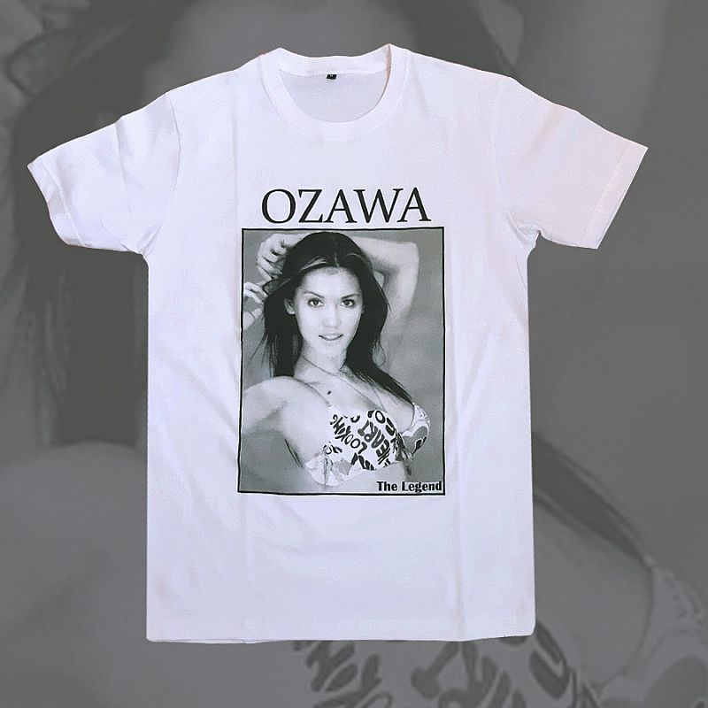 T-shirt Kaos Ozawa the legend