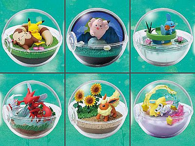 Pokemon: Terrarium Collection 8 - set 6 pc